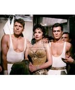 "BURT LANCASTER, GINA LOLLOBRIGIDA & TONY CURTIS IN ""TRAPEZE"" 8X10 PHOTO - $18.00"