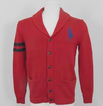 NEW! Polo Ralph Lauren Boys Big Pony Cardigan Sweater!  *Red*  *Heavier Weight* - $49.99