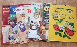 Lot of Plastic Canvas and other Books-3 - $6.95