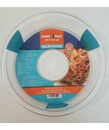 """Nordic Ware Microwave Spatter Cover, 10.25"""" Clear Microwaveable Plate Co... - $12.16"""