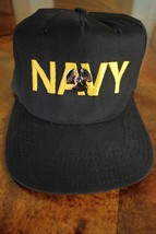 USN US NAVY ENG & HULL CREW'S MM MACHINIST'S MATE UTILITY BALL CAP W/ BADGE - $24.70