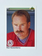 Dan Quisenberry 1990 Upper Deck Signed Autographed St Louis Cardinals Card - $69.25