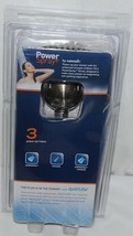 Waterpik Brand VAT349 Brushed Nickel Finish Power Spray Plus Series Hand Shower image 2