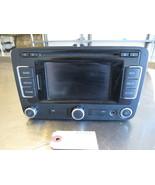 GRF721 Radio CD Navigation Receiver 2011 VOLKSWAGEN TIGUAN 2.0 1K0035274 - $250.00