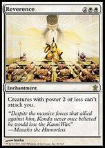 MTG Reverence (Saviors Of Kamigawa) MINT + BONUS! - $1.00