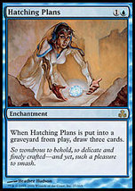 MTG Hatching Plans FOIL (Guildpact) MINT + BONUS! - $1.50