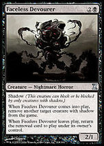 Mtg x4 Faceless Devourer (Time Spiral) Mint + Bonus! - $1.50