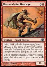 MTG x4 Hammerheim Deadeye (Planar Chaos) MINT + BONUS! - $1.00