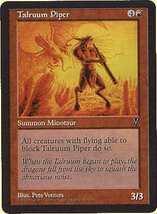 MTG x4 Talruum Piper (Visions) MINT + BONUS! - $1.99