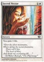 MTG Sacred Nectar FOIL (8th Edition) MINT + BONUS! - $1.00