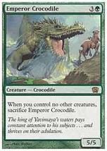 MTG Emperor Crocodile FOIL (8th Edition) MINT + BONUS! - $1.99