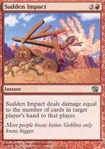 MTG x4 Sudden Impact (8th Edition) MINT + BONUS! - $1.99