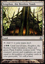MTG x3 Svogthos, the Restless Tomb (Ravnica) MINT+BONUS - $1.00