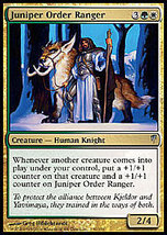 MTG Juniper Order Ranger (Coldsnap) MINT + BONUS! - $1.50