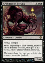 MTG Archdemon of Unx (Shards of Alara) MINT + BONUS! - $1.00