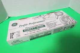 "GE Profile Performance Fluorescent Light Fixture Direct Wire 12"" New In Box - $19.79"