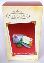 Hallmark Keepsake Christmas Ornament To My Gouda Friend Mouse With Mailb... - $16.83