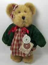 "Boyds Gala Applesmith 10"" Plush Bear TJ's Best Dressed Red Gingham # 917441 - $12.35"