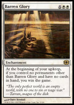 Mtg Barren Glory (Future Sight) Mint + Bonus! - $1.00