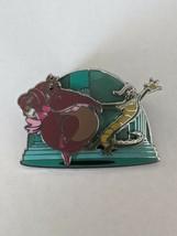 Hyacinth Hippo And Ben Ali Gator Fantasia Park Pack LE500 Disney Pin 3/6 - $19.79