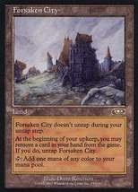 Mtg Forsaken City (Planeshift) Mint + Bonus! - $1.99
