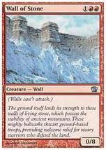 MTG x3 Wall of Stone (8th Edition) MINT + BONUS! - $1.50