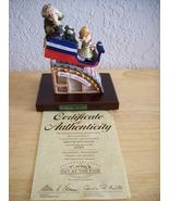 "Emmett Kelly JR. ""Ride the Wild Mouse"" Figurine - $75.00"
