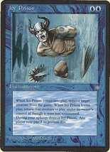 Mtg Icy Prison (Ice Age) Mint + Bonus! - $1.00