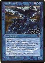 MTG x2 Thunder Wall (Ice Age) MINT + BONUS! - $1.00