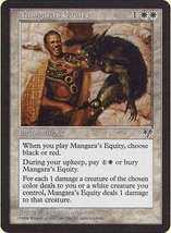 MTG x2 Mangara's Equity (Mirage) MINT + BONUS! - $1.00