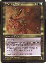 MTG Warping Wurm (Mirage) MINT + BONUS! - $1.00