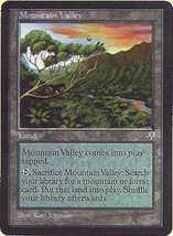MTG Mountain Valley (Mirage) MINT + BONUS! - $1.00