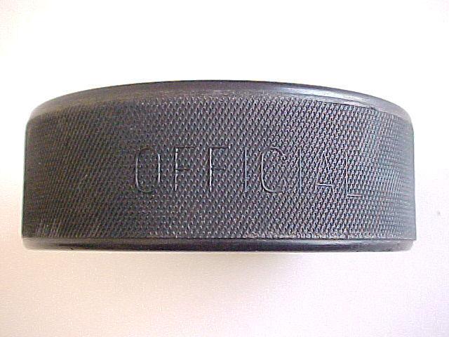 Anaheim Mighty Ducks FHP Health Care Souvenir Hockey Puck-Made in Czechoslovakia