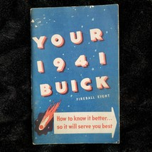 Vintage 1941 Buick Fireball 8 Owners Manual - $27.09