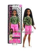 """Year 2019 Fashionistas 12"""" Doll #144 African American Curvy Barbie Leopa... - $24.99"""