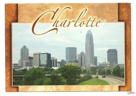 NC CHARLOTTE Town View Skyline Banks PC - $6.95