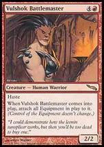 MTG Vulshok Battlemaster (Mirrodin) MINT + BONUS! - $1.00