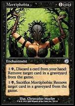 Mtg x2 Mortiphobia (Torment) Mint + Bonus - $1.00