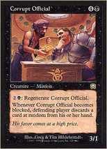 MTG Corrupt Official (Mercadian Masques) MINT + BONUS! - $1.00