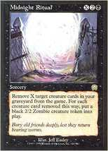 Mtg Midnight Ritual (Mercadian Masques) Mint + Bonus! - $1.50