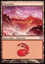 MTG x4 Mountain BASIC LANDS 1 ofEachVersion Champions - $1.00