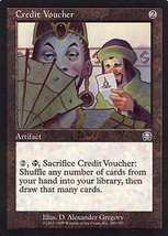 MTG x2 Credit Voucher (Mercadian Masques) MINT + BONUS! - $1.00