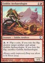 MTG Goblin Archaeologist FOIL (Darksteel) MINT + BONUS! - $1.50