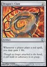 MTG x4 Dragon's Claw (Darksteel) MINT + BONUS! - $2.99