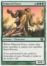 MTG Primeval Force (8th Edition) MINT + BONUS! - $1.00