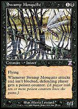 Mtg x2 Swamp Mosquito (Time Spiral) Mint + Bonus! - $1.00