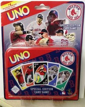 Huge Lot Of 24 Brand New Special Edition UNO Boston Red Sox Card Game - $74.24