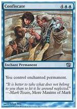 MTG x4 Confiscate (8th Edition) MINT + BONUS! - $1.99