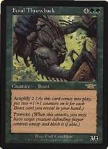 MTG Feral Throwback (Legions) MINT + BONUS! - $1.00