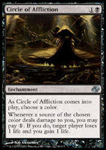 MTG x4 Circle of Affliction (Planar Chaos) MINT+BONUS! - $1.50